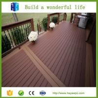 Buy cheap Superior quality fence wpc decking wood plastic composite flooring board from wholesalers