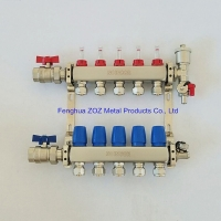 Buy cheap Hydronic Radiant Heat Manifold Supples, Hydronic PEX Tubing Radiant  Floor Heating Manifold from wholesalers