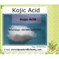 Buy cheap Kojic acid Pharmaceutical Raw Materials Cosmetics Use Skin Whitening 501-30-4 from wholesalers
