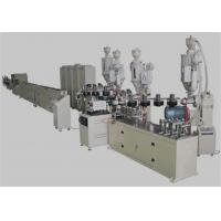 Buy cheap PEX / AL / PEX Plastic Pipe Extrusion Machine , 20-63mm Composite Pipe Production Line from wholesalers