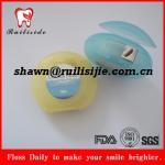 Buy cheap Circle shape waxed and mint 50M nylon dental floss from wholesalers