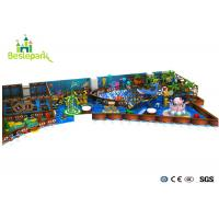 Buy cheap Funny Indoor Play Area Equipment Large Scale Custom Made With Ocean Theme from wholesalers