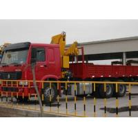 China Commercial Knuckle Boom Truck Crane , 6300kg Lifting Weight on sale