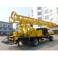 Buy cheap BZCT400SZ/BZT400SZ/BZCT400/BZT400 400m trailer type diesel rotary water well drilling rig from wholesalers