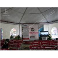 Buy cheap Training 3M Large Shade Gazebo Canopy Tents With Sidewalls / Transparent PVC Windows from Wholesalers