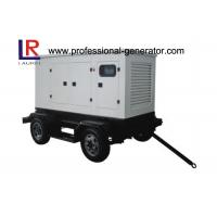 China Water Cooled 30kw Mobile Trailer Mounted Diesel Generator , Customised  Available on sale