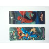 Buy cheap Custom Plastic 3D Lenticular Bookmarks Printing With 3D Effect CMYK Printing product