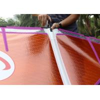 Buy cheap Smart 4.2 Purple / Orange Freeride Wind Surf Sail Kevlar Frame Lightweight with 5 Battens from wholesalers