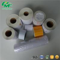 Buy cheap 48*40mm Thermal Transfer Barcode Labels Blank Barcode Red Printing Nontoxic from wholesalers