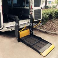 Buy cheap Wheelchair Lift for bus and van,foldable platform(BWL100F) from wholesalers