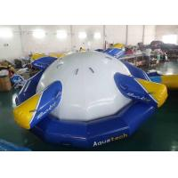 Buy cheap 4 - 6 Person Water Inflatable Rotating Top Inflatable Water Gyro , Planet Saturn from wholesalers