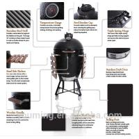 Buy cheap Newest BIG GREEN EGG style kamado ceramic grill from wholesalers