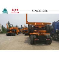 Buy cheap Durable Log Loader Trailer , Forestry Timber Trailers With Bogie Suspension from wholesalers