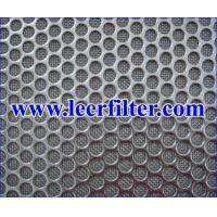 Buy cheap Perforated Plate Sintered Wire Mesh from wholesalers