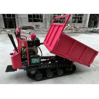 Buy cheap Durable Small Tracked Dumpers / Rubber Track Carriers With Automatic Transmission from wholesalers