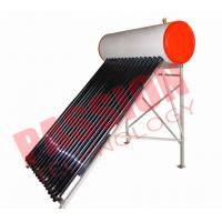 Buy cheap Flat Roof Thermosiphon Solar Water Heater Copper Pipe Anti Corrosion Material from wholesalers