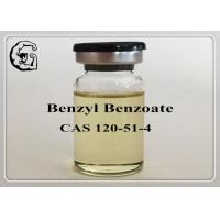 Buy cheap Safe Organic Steriods Solvents Injectable Anabolic Steroids Medical Grade Benzyl Benzoate 120-51-4 from wholesalers