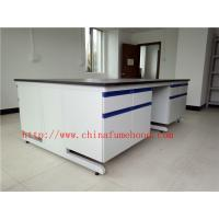 Buy cheap Scratch / Corrrosion / Acid / Alkali -Resistant Chemistry Lab Furniture With Sink And Faucet , Science Lab Workstations from wholesalers