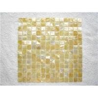 Buy cheap Goldenlip mother of pearl shell mosaic from wholesalers
