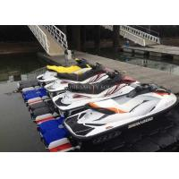 plastic floating dock jet ski dock