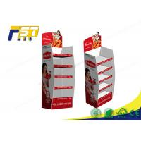 Buy cheap Multideck Shelves Pocket Cardboard Retail Display Stands B Flute Paper For Shopping Mall from wholesalers