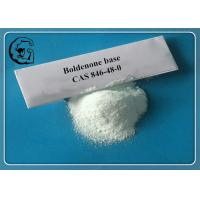 Buy cheap Muscle Growth Steroids Raw Boldenone Base for Bulking Muscle CAS 846-48-0 from wholesalers