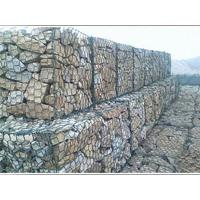 Buy cheap Plastic Coated Twist Gabion Wall Baskets Anti Corrosive For Protection River Bed from wholesalers
