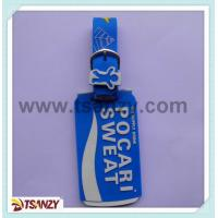 3D custom bottle shape pvc luggage tag