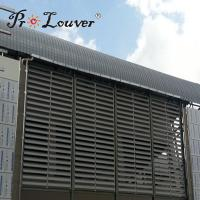 Buy cheap Sun shading operable Aerowing louver,Factory price Aerowing sun louve blades from wholesalers