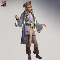 Buy cheap Johnny Depp Lfiesize Wax Portrait product