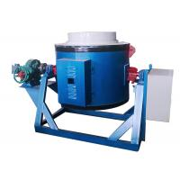 Buy cheap Metal Crucible Melting Furnace , High Temperature 200kg Electric Crucible Furnace from wholesalers