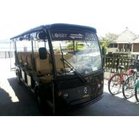 Buy cheap EQ8141 72V 5KW 14 seats electric sightseeing bus/shuttle cart from wholesalers