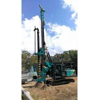 Buy cheap Multi - functional Hydraulic Piling Rig Machine , CFA Construction Borehole Pile Equipment from wholesalers