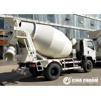 China 8 Cubic Meters Truck Mounted Concrete Mixer , Cement Mixer Truck 213kw on sale