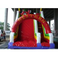 Buy cheap 6mx4m Commercial Inflatable Slide High Durability PVC Materials For Children from wholesalers
