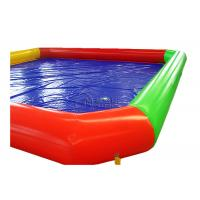 Buy cheap 0.9mm PVC rectangle inflatable poolInflatable Above Ground Pools For Renting from wholesalers