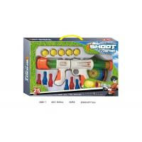 Air Powered EVA Shooting Gun Kids Sports Toys with Dart Targets Soft Foam Balls