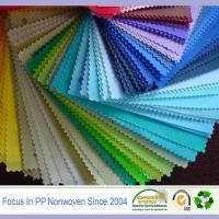 Buy cheap China high quality PP spunbond nonwoven,colorful PP spunbond non-woven polypropylene from wholesalers