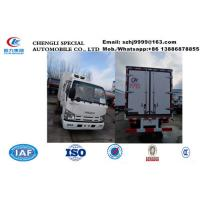 Buy cheap HOT SALE! wholesale ISUZU double cabs 2tons cold room truck, factory selling best price Isuzu EuroⅤ chiller van truck from wholesalers