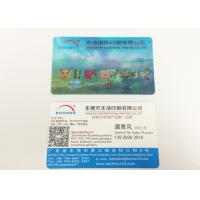 Buy cheap Two Sides Personalised 3D Printed Products Lenticular Business Cards from wholesalers