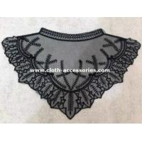 Buy cheap Triangle Crochet Collar Necklace / EmbroideryLace Collar For Floral Print Shirt from wholesalers