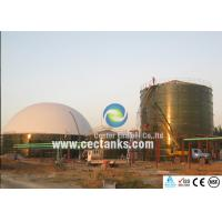Buy cheap Dark Blue Glass Fused Steel Tanks / 50000 gallon water storage tanks OSHA from wholesalers