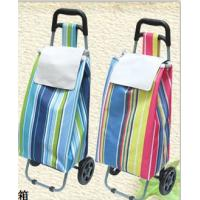 Buy cheap Popular Trolley Shopping Bag Oxford fabric shopping bag Convenient Trolley shopping bag with wheels from wholesalers