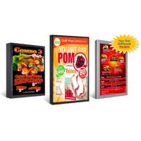 Outdoor and indoor large format backlit film printing / Backlit Posters Printing