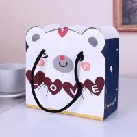 Buy cheap OEM cheap storage toy paper shopping bag custom printing China factory from wholesalers