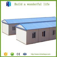 Buy cheap supply 70 square meter steel frame prefab movable camp house prefab indonesia from wholesalers