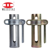 Buy cheap Painted Silver Custom System Scaffold Components Prop Sleeve Thickness 2.5mm from wholesalers