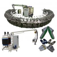 Buy cheap Good quality pu shoe soles pouring machine with rotary production line from wholesalers