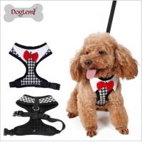 Buy cheap Vest puppies chest harness, fashion bow pet chest back, Teddy bear walking leash;Pet clothes customization, from wholesalers
