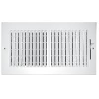 Buy cheap 6x6 3 way steel/ plastic valve air vent grill from wholesalers